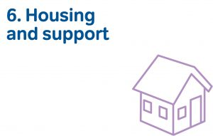 6 housing and support