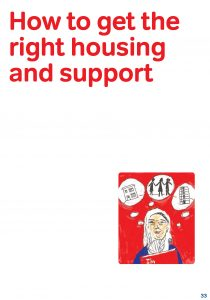 how to get the right housing and support