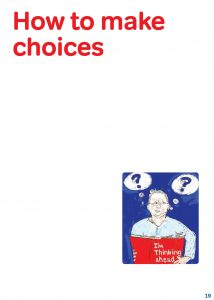 how to make choices